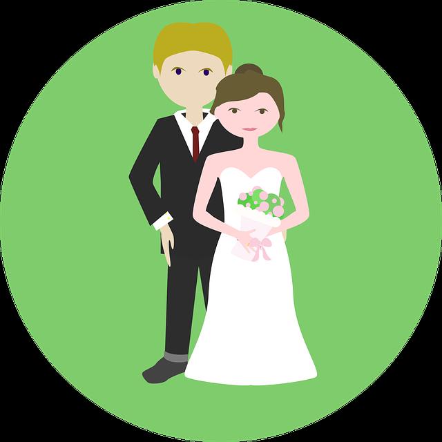 ženich, nevěsta, svatba
