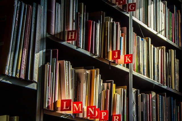 označení v knihovně