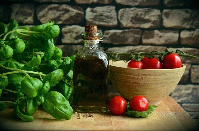 suroviny na salát caprese